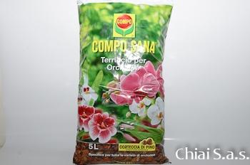 Terriccio Compo Orchidee lt. 5